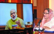 Hasina, Modi jointly inaugurate four projects in Bangladesh