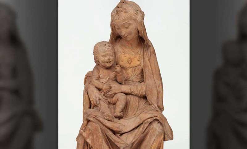 Italy unveils Leonardo Da Vinci's only surviving sculpture