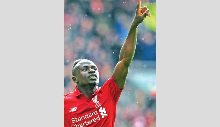 Mane reaches  Liverpool milestone