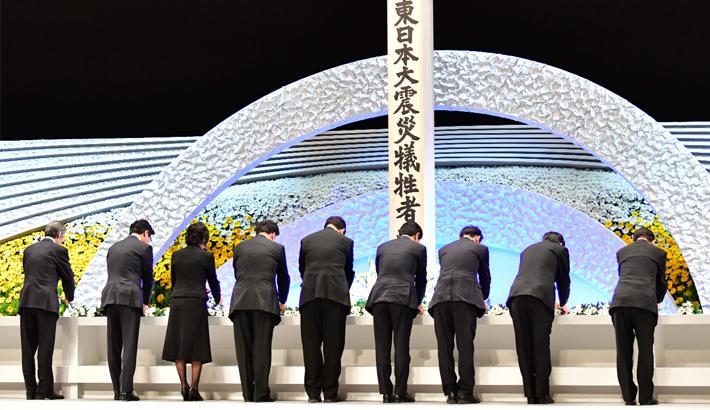 Japan marks 8th anniv of 2011 earthquake, tsunami