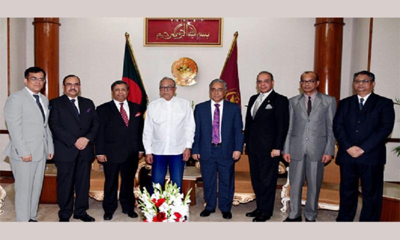 Chief Justice calls on President at Bangabhaban