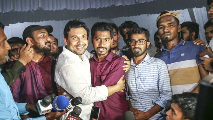 Tension eases at DU as BCL hails new Ducsu VP-elect
