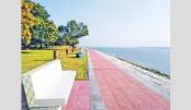 Padma bank turns  into tourist spot