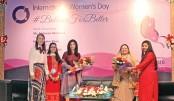 AIUB celebrates Int'l Women's Day