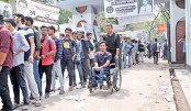 Physically  challenged  Hridoy happy  with casting vote