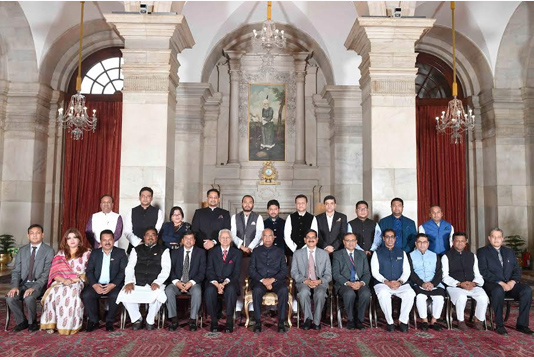 Strong Bangladesh in India's interest: Indian President