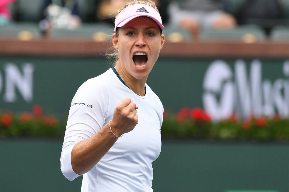 Kerber overcomes qualifier to reach Indian Wells 4th round