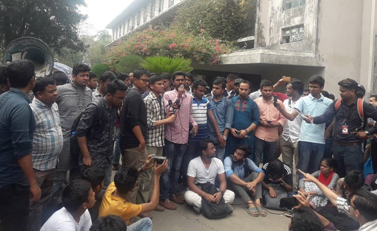 Announce fresh DUCSU polls schedule in 3 days: Protesters to DU