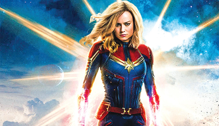 'Captain Marvel' soars to rarefied heights in  N American opening