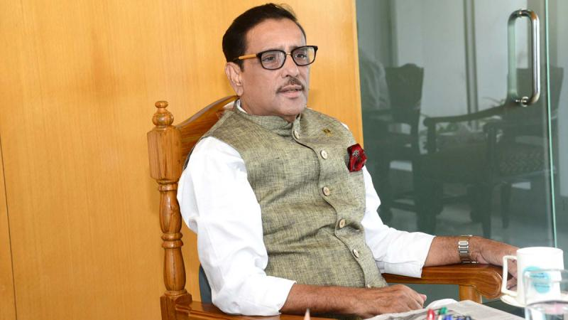 Obaidul Quader shifted to cabin from ICU