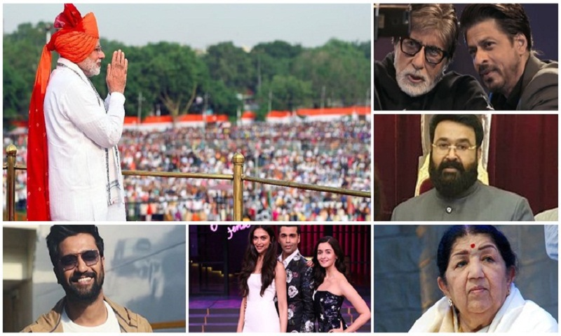 PM Narendra Modi urges film stars to encourage people to vote in 2019 elections