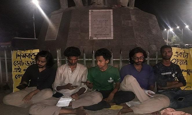 5 students begin hunger strike seeking DUCSU re-election