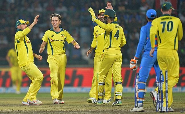 Australia beat India, clinch ODI series 3-2