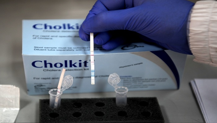 icddr,b develops law cost rapid diagnostic test kit for cholera