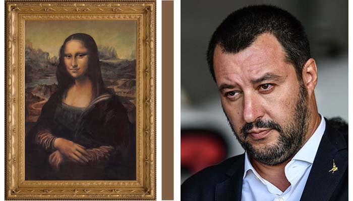 Italy should take back the Mona Lisa, Salvini jokes