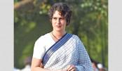 Priyanka takes on Modi in  debut speech