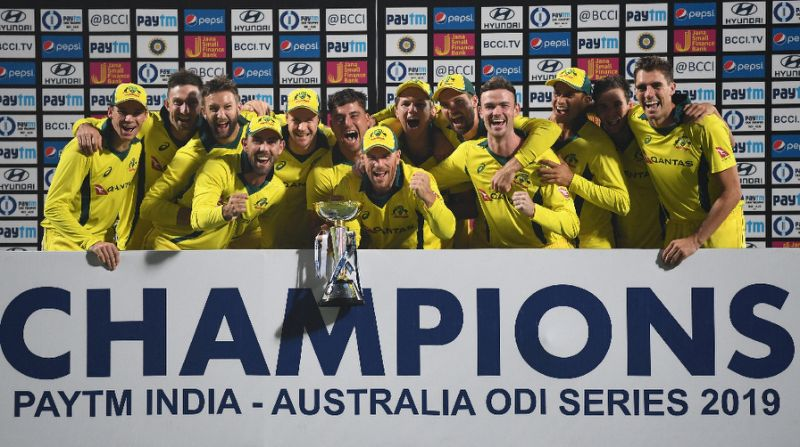 Australia target World Cup win after clinching ODI series against India