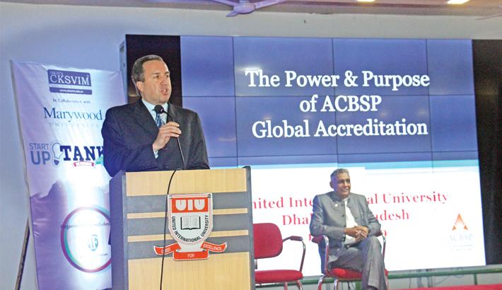 Seminar on  power, purpose   of ACBSP  held at UIU