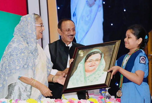 Piasa's dream of presenting PM's portrait becomes true