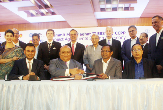 Deal signed for 583MW power plant at Meghnaghat