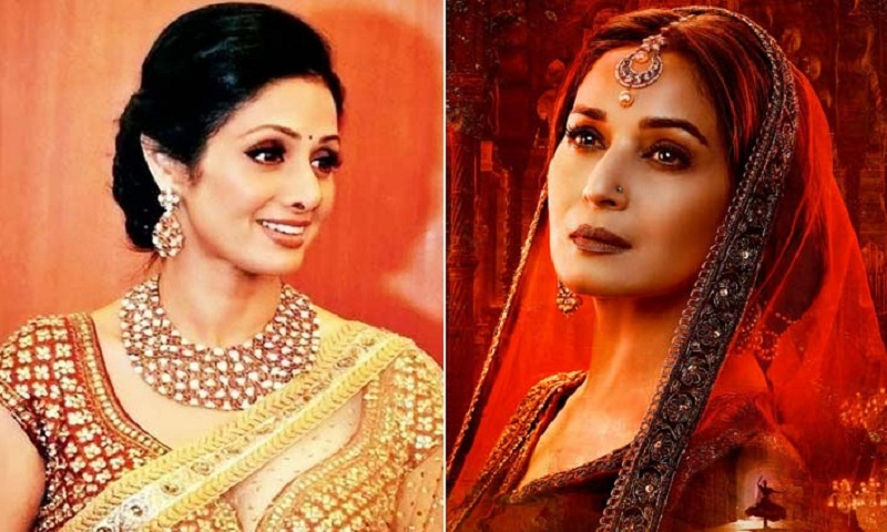 Madhuri Dixit on replacing Sridevi in Kalank