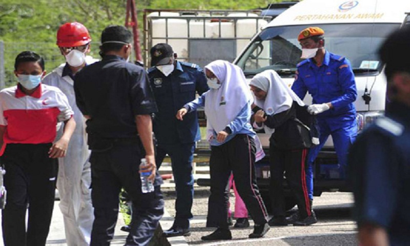 Over 100 Malaysian schools shut after toxic waste dump
