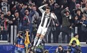 Ronaldo lifts Juve into UCL quarters