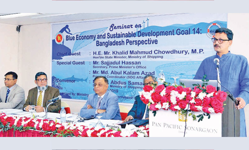'Blue economy' key to achieving double digit growth: Khalid