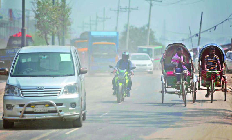 Dust pollution worsens