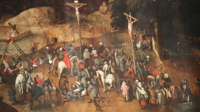Thieves steal fake Bruegel masterpiece