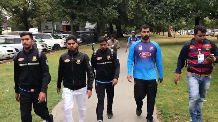 Mosque shooting: Christchurch cricket test called off