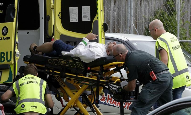 40 killed in New Zealand after gunmen attack mosques