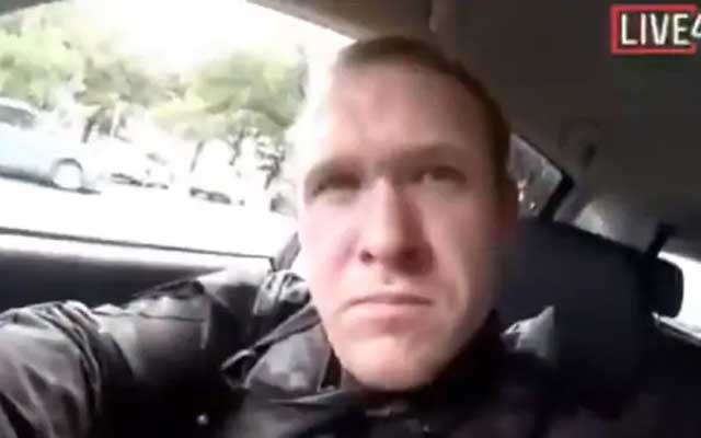 Christchurch gunman livestreamed mosques shooting