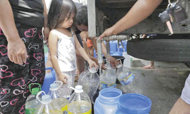 Millions hit by Manila's 'worst' water shortage
