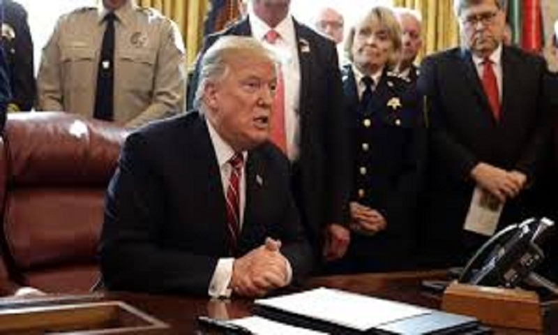 Trump issues veto over border emergency declaration