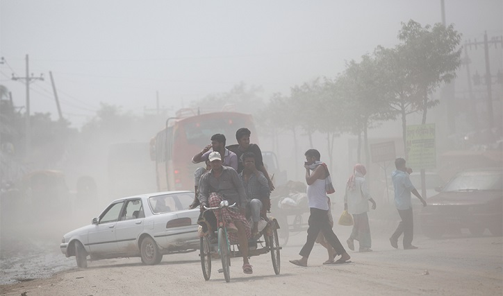 Dhaka ranks 2nd worst city in daily Air Quality Index