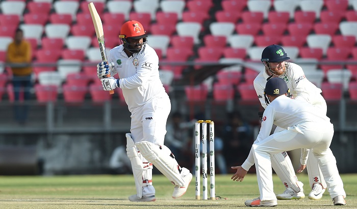 Rashid Khan takes 5, Afghanistan chasing 147 to win maiden Test
