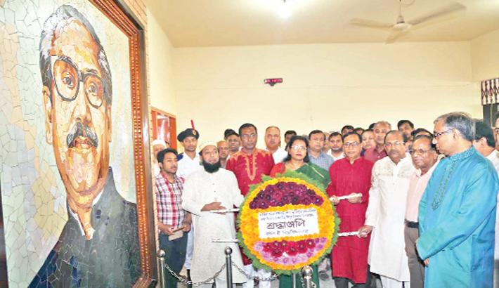 Bangabandhu's birth anniversary celebrated in dists