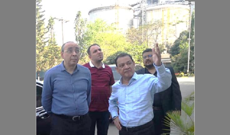 Ambassador of Azerbaijan visits Summit's Power Plant in Narayanganj
