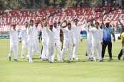 Afghanistan clinches historic maiden test victory