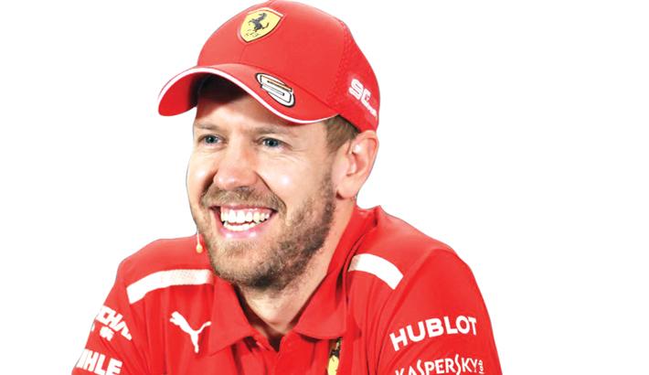 Leclerc Will Push Me All Season: Vettel