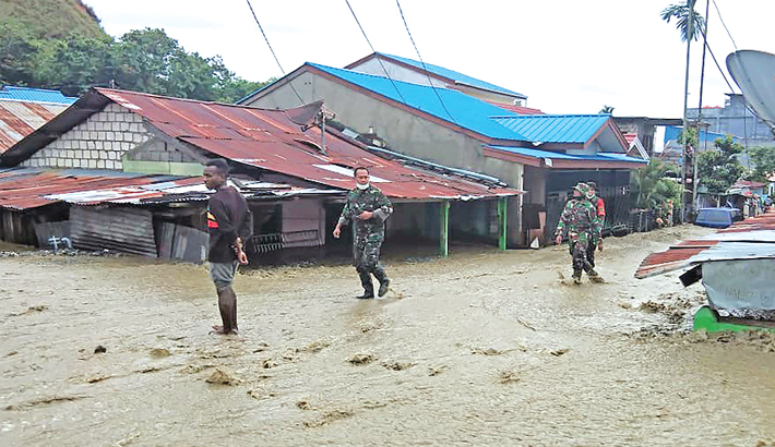 Indonesia flood toll rises to 79