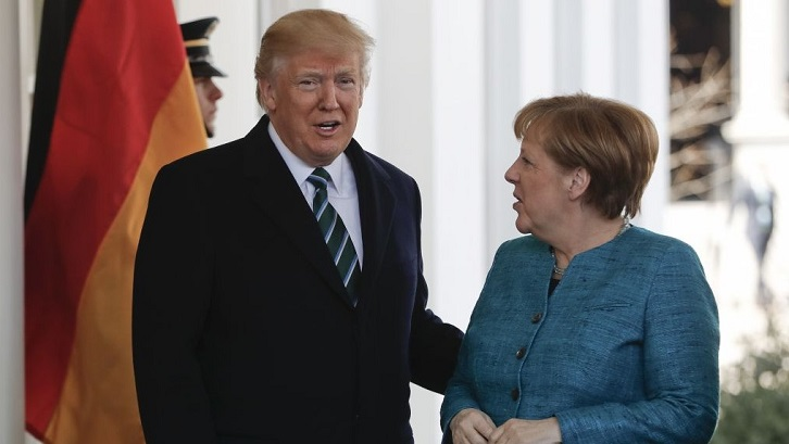 Merkel rejects US criticism on defence spending