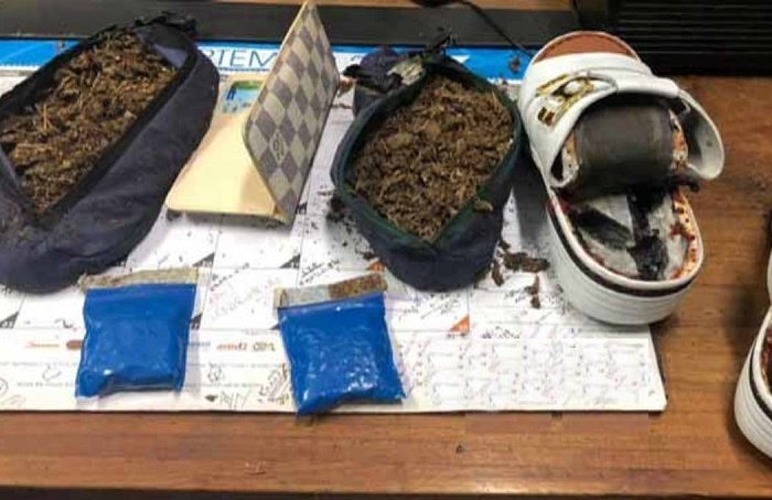Passenger held at Chattogram airport with Yaba, hemp