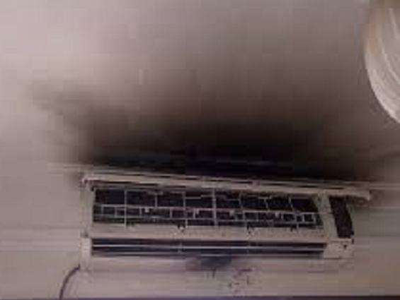 Husband, wife sustain 95% burns in 'AC explosion'
