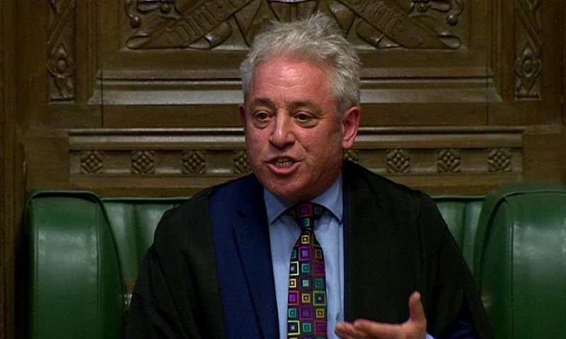 Third Brexit vote must be different – Speaker