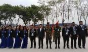BRUR teachers visit BNCC cadet's parade