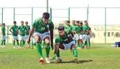 U-23 booters  take on Al Arabi Club today