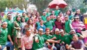 Former students of the 25th batch of Jahangirnagar University
