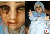 Baby Jesus statue 'cries tears of blood'